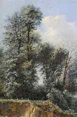 Leon Fleury - attribuito, Paesaggio del XIX secolo-3