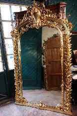 Coppia di antiche e grandi specchiere-6