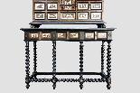 Cabinet intarsiato dell'800-6