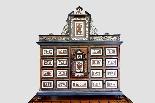 Cabinet intarsiato dell'800-4