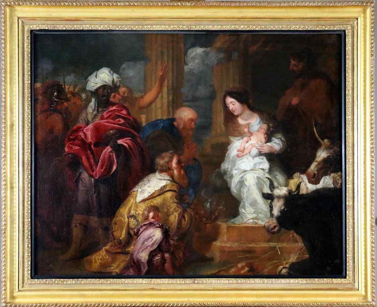 Adorazione dei Magi, Rubens Flandres XVII entourage