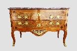 Antico cassettone francese con intarsi del '700-9