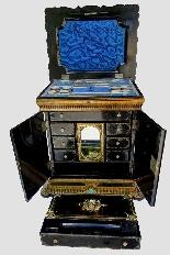 Scrittoio da viaggio Napoleone III - XIX secolo-5