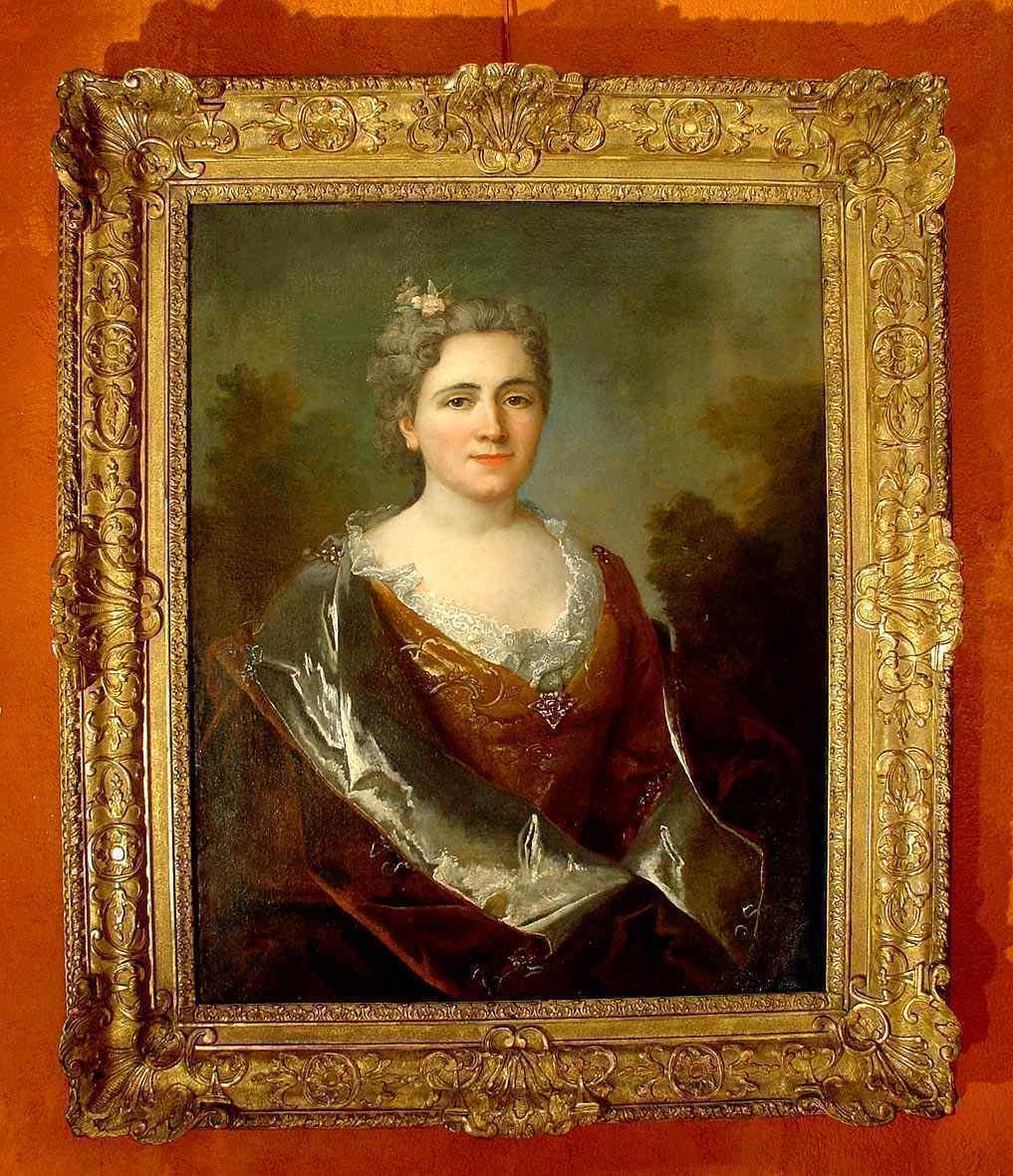 Ritratto di dama, attr. Largillierre XVIII secolo