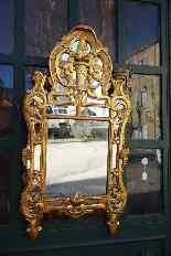 Specchiera antica provenzale del XVIII secolo-5
