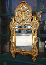 Specchiera antica provenzale del XVIII secolo-7