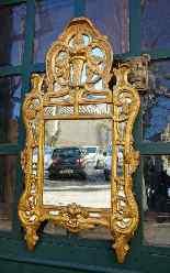 Specchiera antica provenzale del XVIII secolo-3
