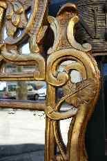 Specchiera antica provenzale del XVIII secolo-0