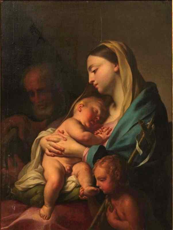 Francesco Trevisani (1656 - 1746), Madonna con Bambino