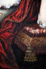 Quadro antico - Dama - Gascard Henri (1635-1701) attribuito -2