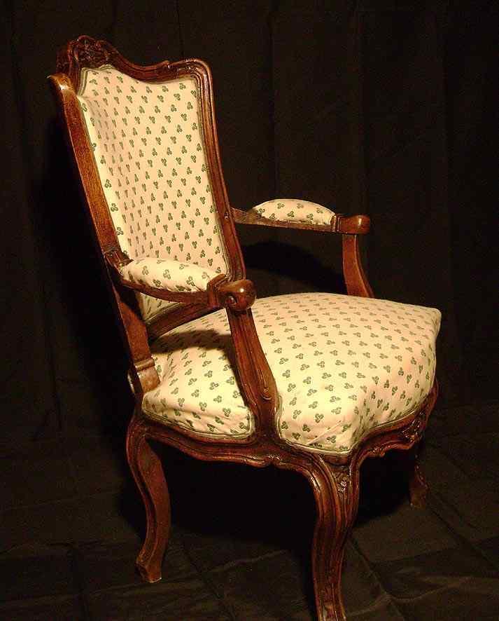 18-го века Людовика XV кресло