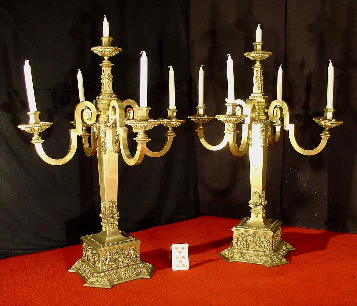 Pair Of 17th Century Style Candelabra