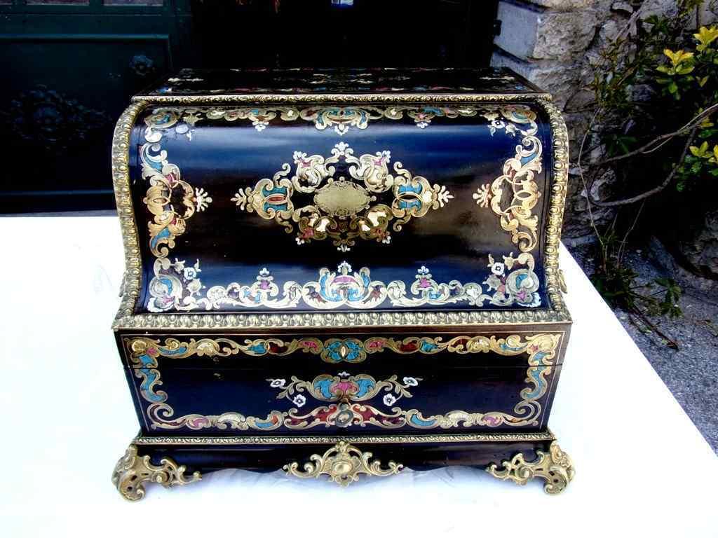 Porta liquori a forma di pianoforte  Napoleone III