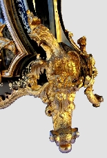 Cartel Boulle francese con bronzi dorati - 160 cm-10