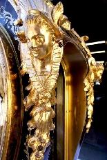 Cartel Boulle francese con bronzi dorati - 160 cm-8
