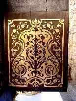 Cartel francese ad intarsio Boulle - XIX secolo-9