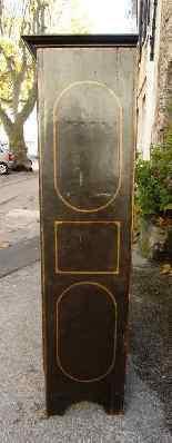 Raro armadietto antico e laccato francese del '700-1