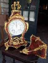 Importante orologio Cartel francese con consolle-9