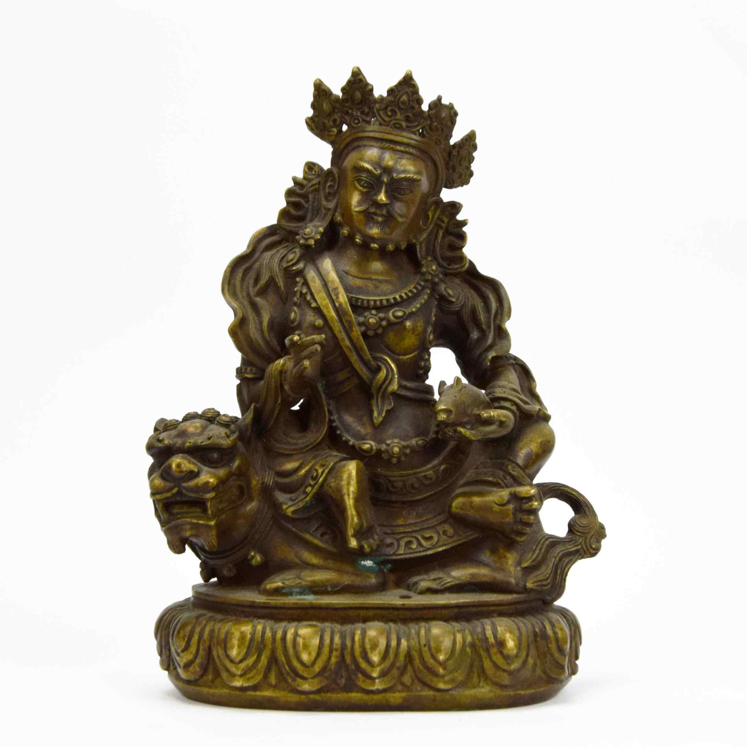 Importante Buddha in bronzo del XVIII secolo