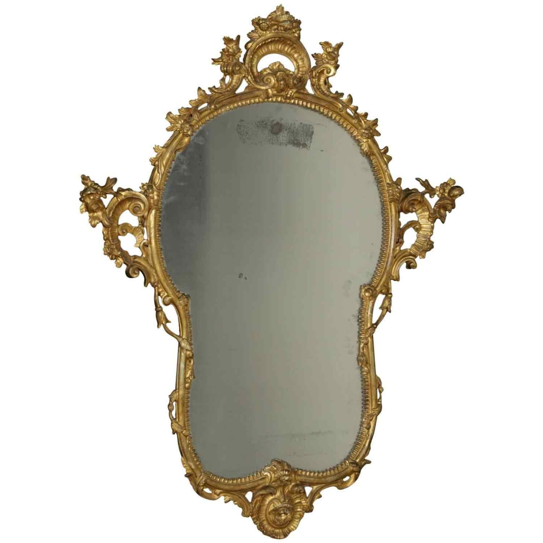 Specchiera Barocchetto napoletana