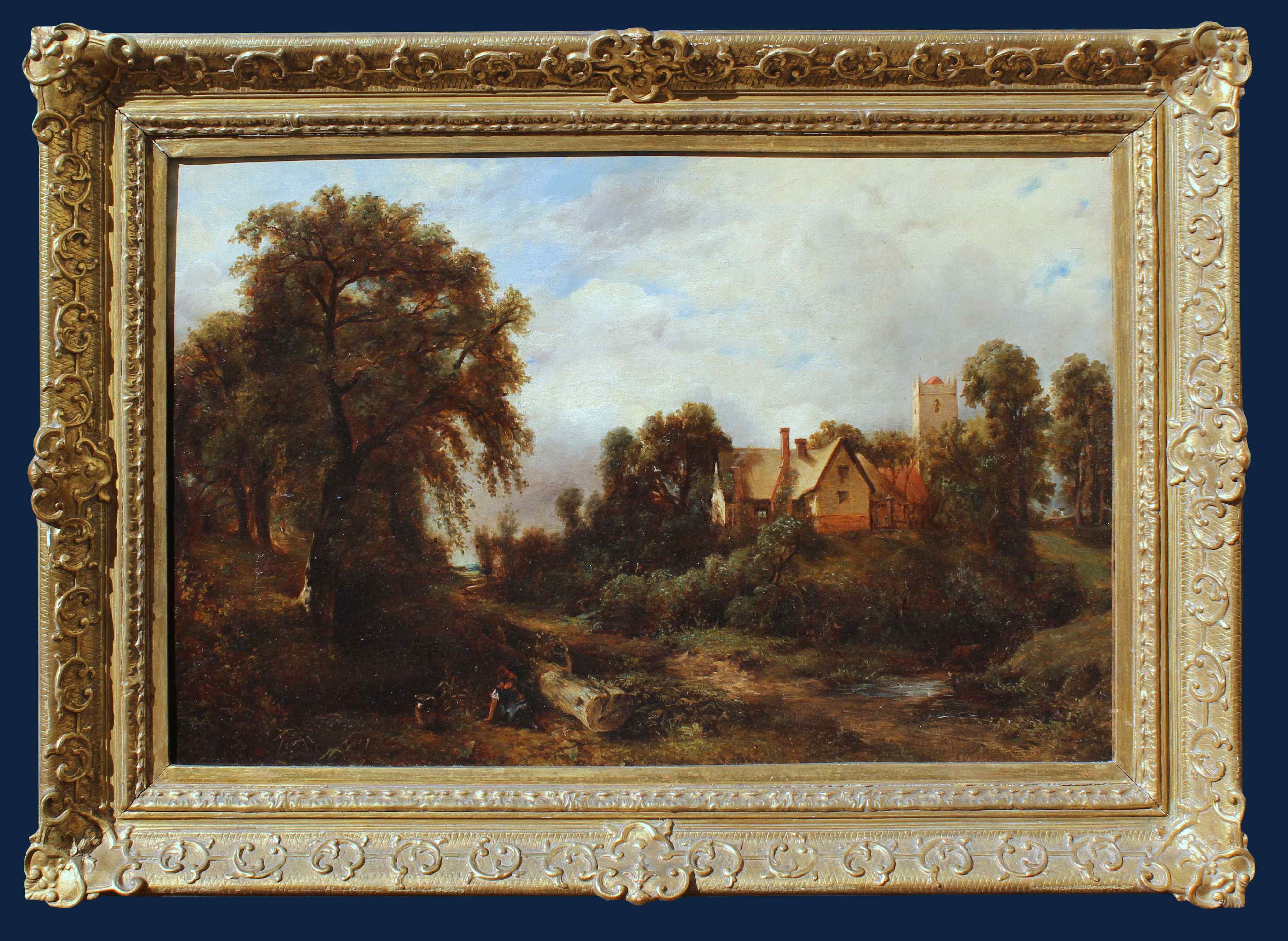 Scuola inglese, XIX secolo Paesaggio