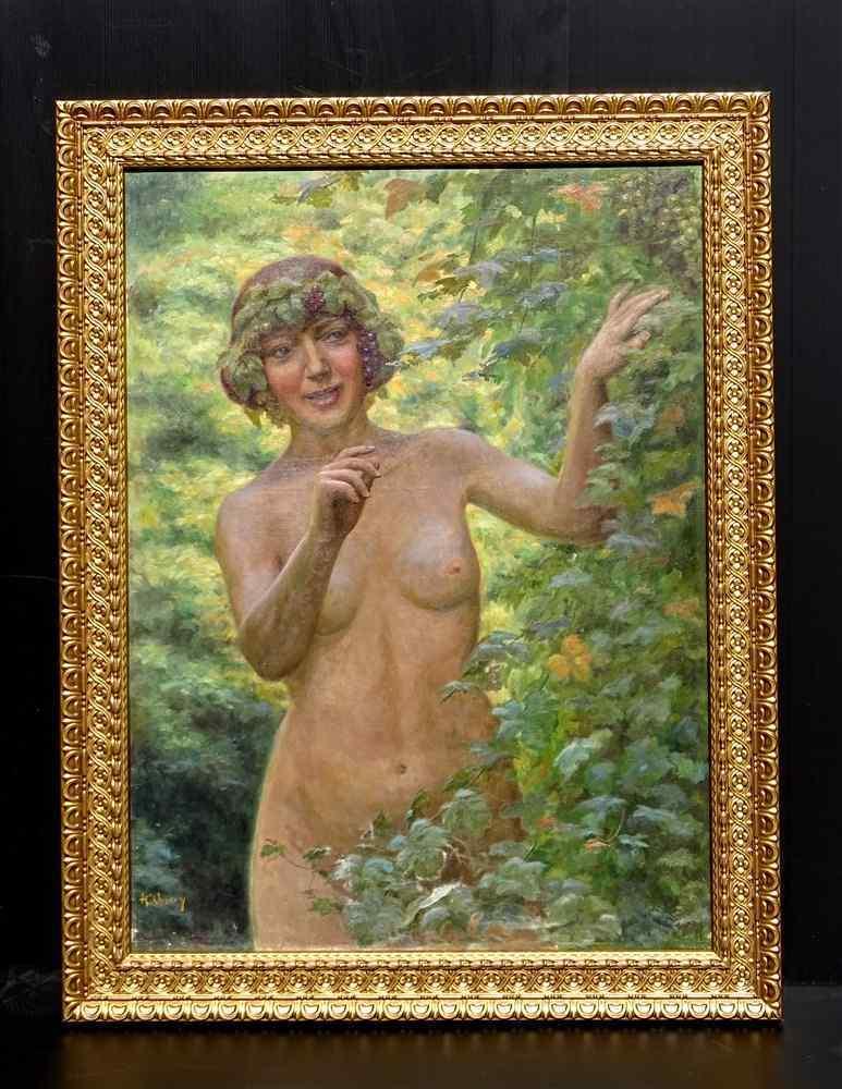 Henry-Marie Charry 1878 Ritratto di signora Charry di Eve