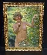 Henry-Marie Charry 1878 Ritratto di signora Charry di Eve-1
