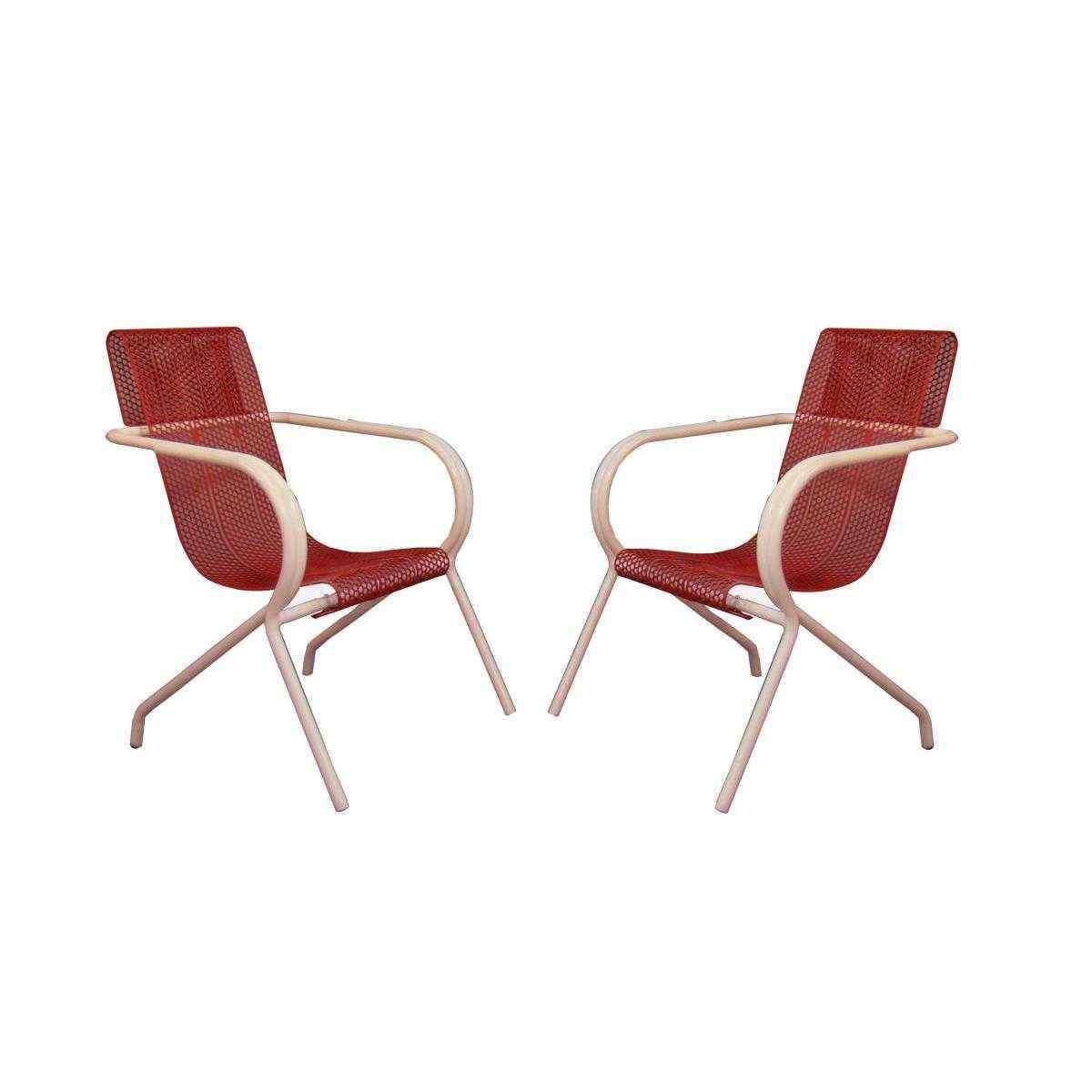 Coppia di sedute - Maison Claude Adrien XX secolo