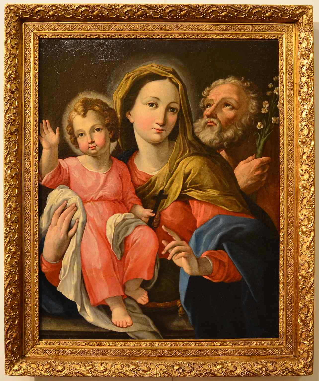Deifebo Burbarini (Сиена, 1619-1680), Святое семейство