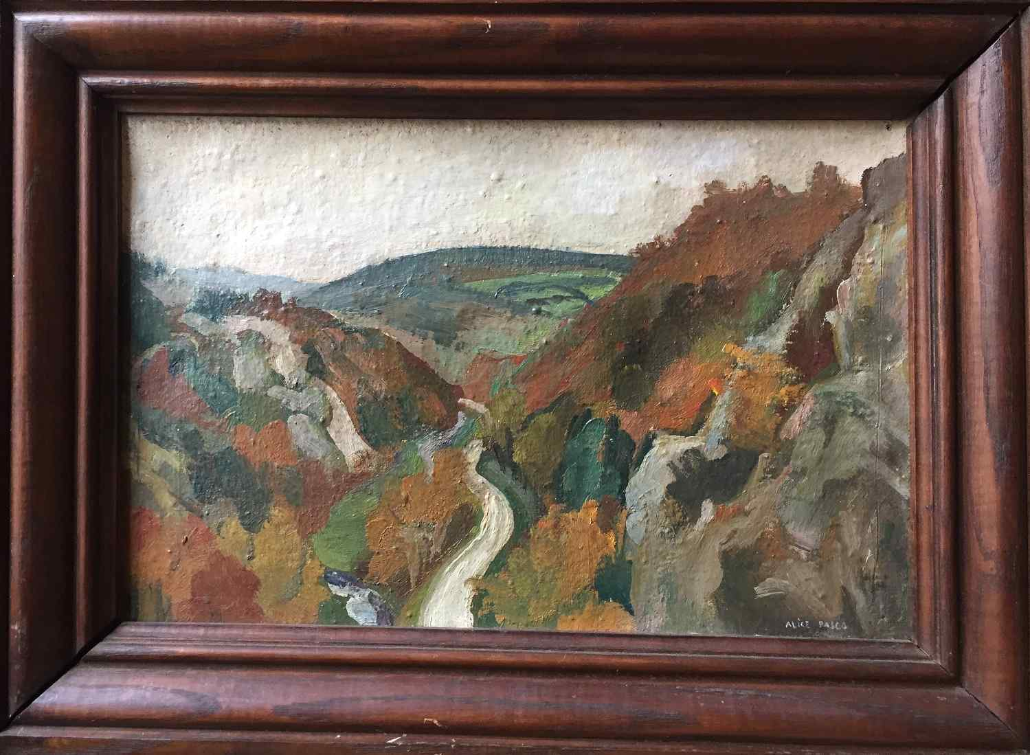 Valle Poulanou - Parete Bretagna di Alice PASCO