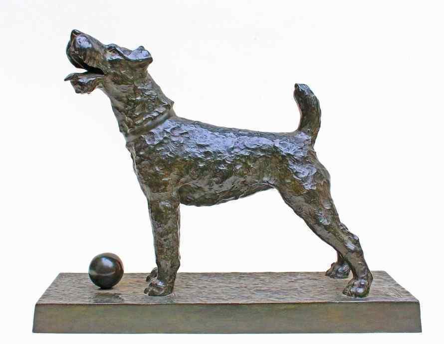 Grande bronzo Art Deco firmato C.Charles