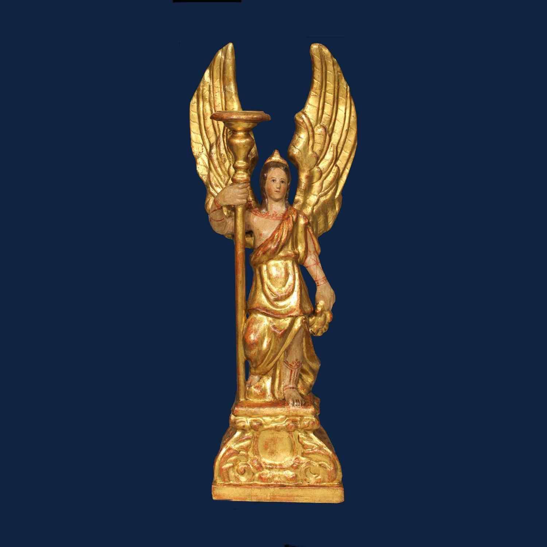 XVII века, Анджело reggicero, папье-маше, альт. 63 см