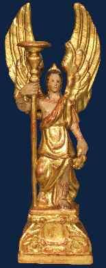 XVII века, Анджело reggicero, папье-маше, альт. 63 см-0