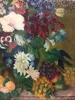 Dipinto olio su tela raffigurazione