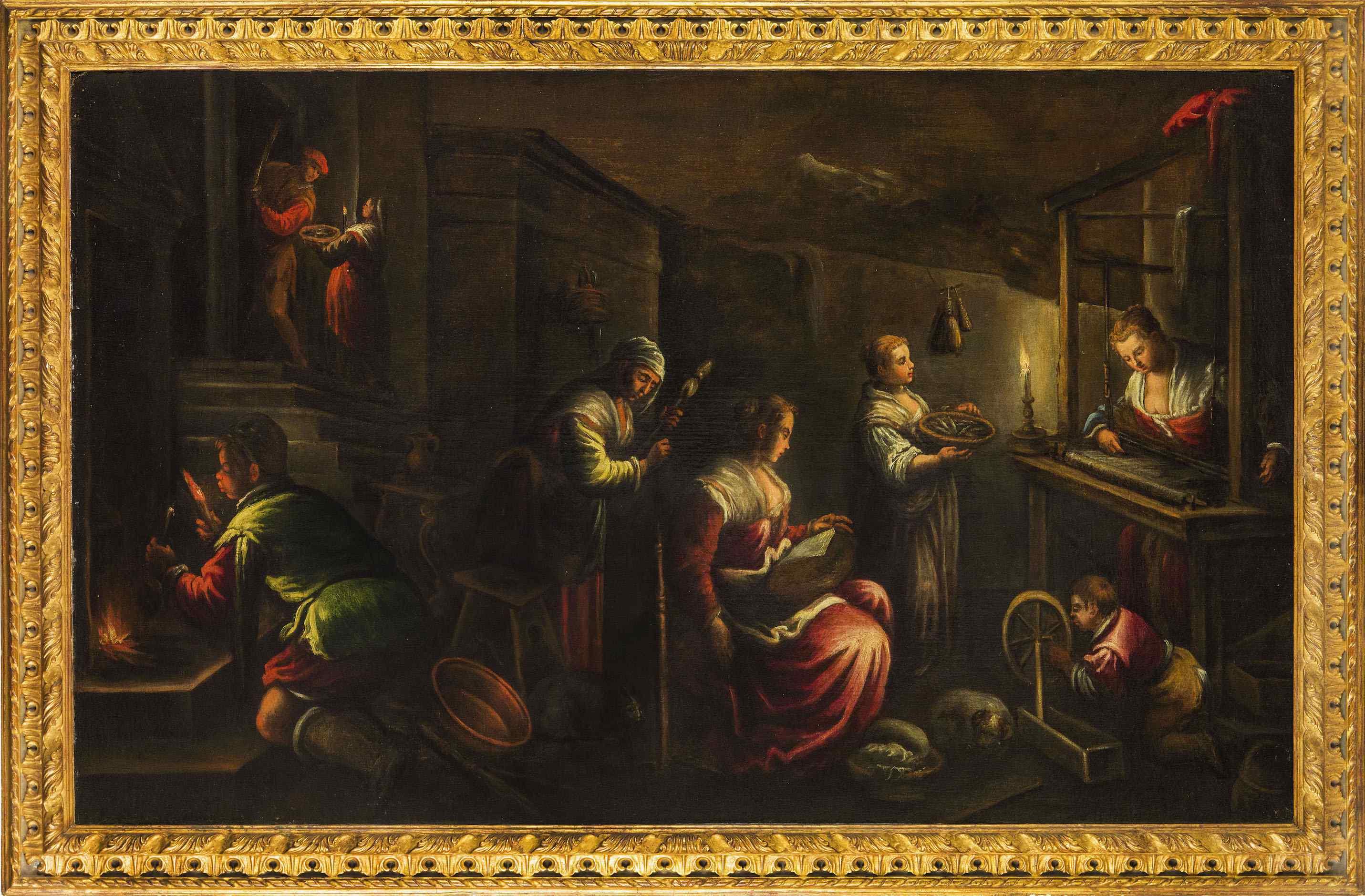 Leandro Bassano (Bassano 1557 – Venezia 1622), bottega di