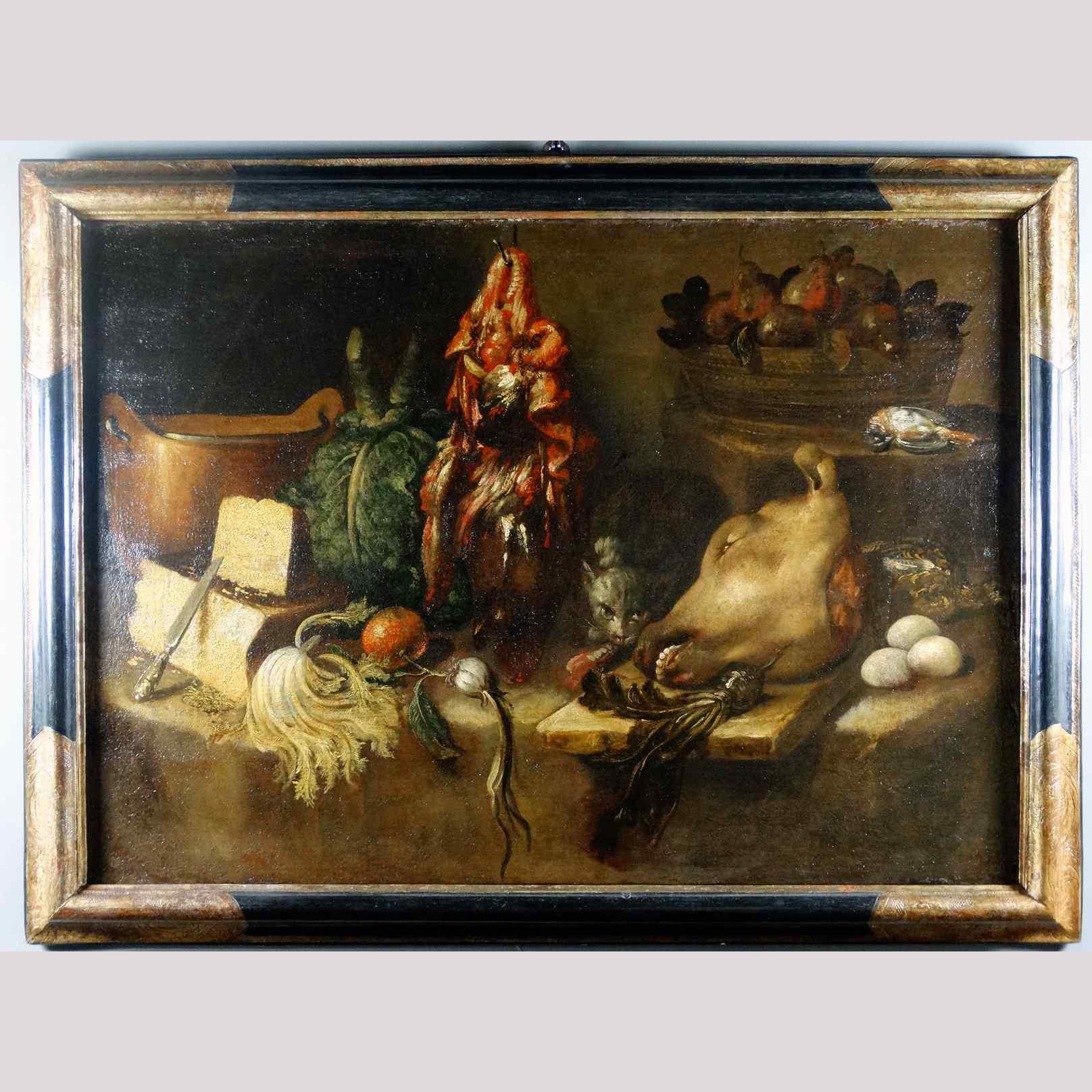Natura Morta di Bartolomeo Arbotori (1594-1676)