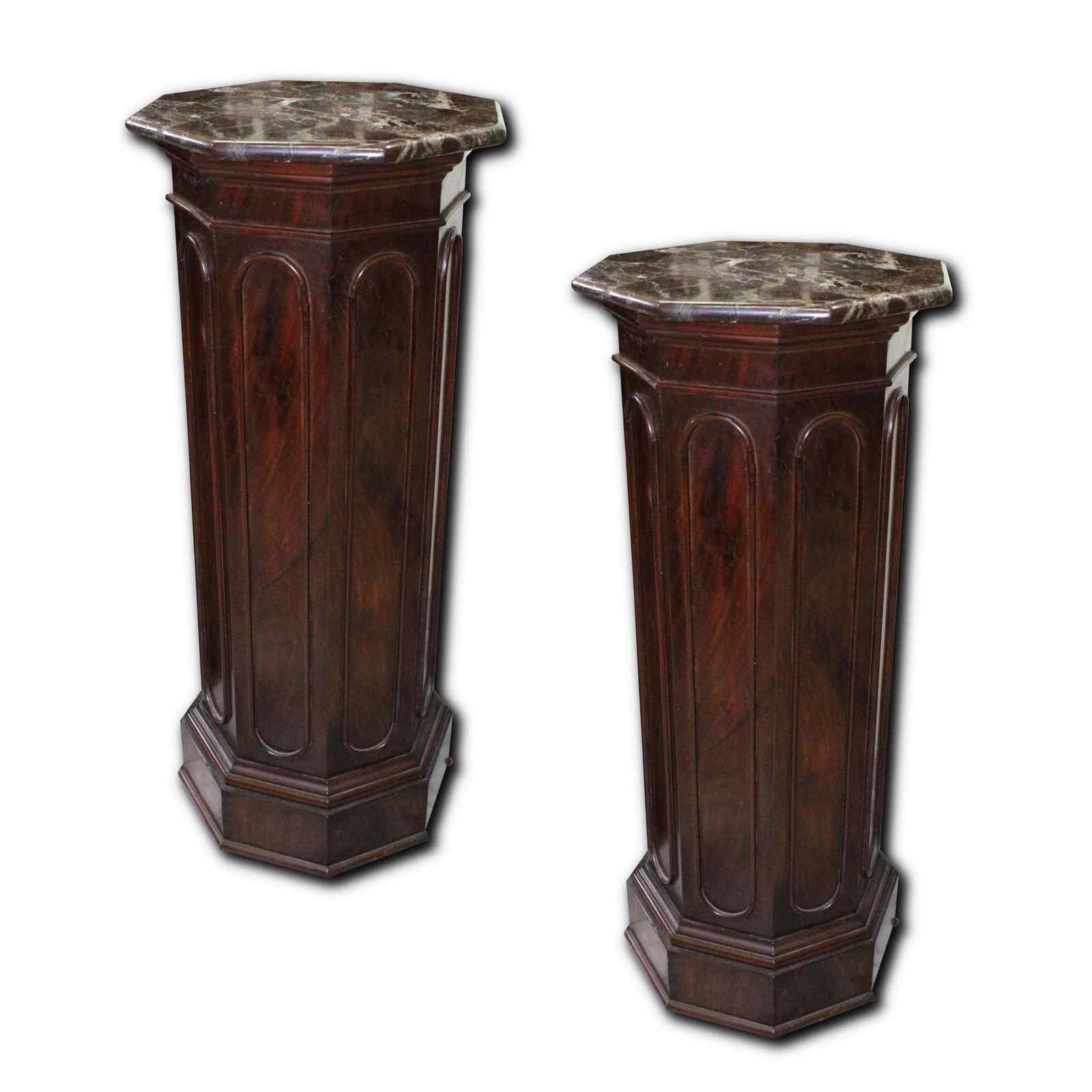 coppia di colonne antiche