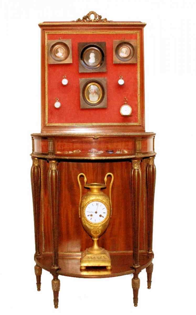 Console antica XIX secolo firmata C.MELLIER