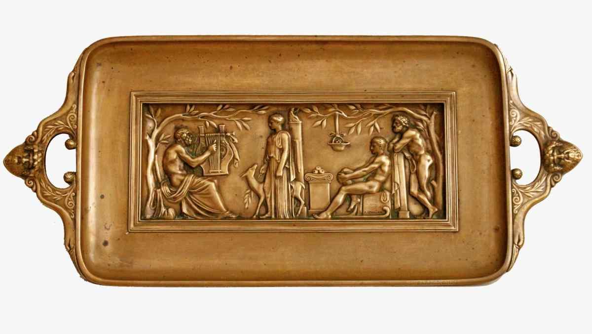 Ferdinand Levillain & Barbedienne XIX bronzo