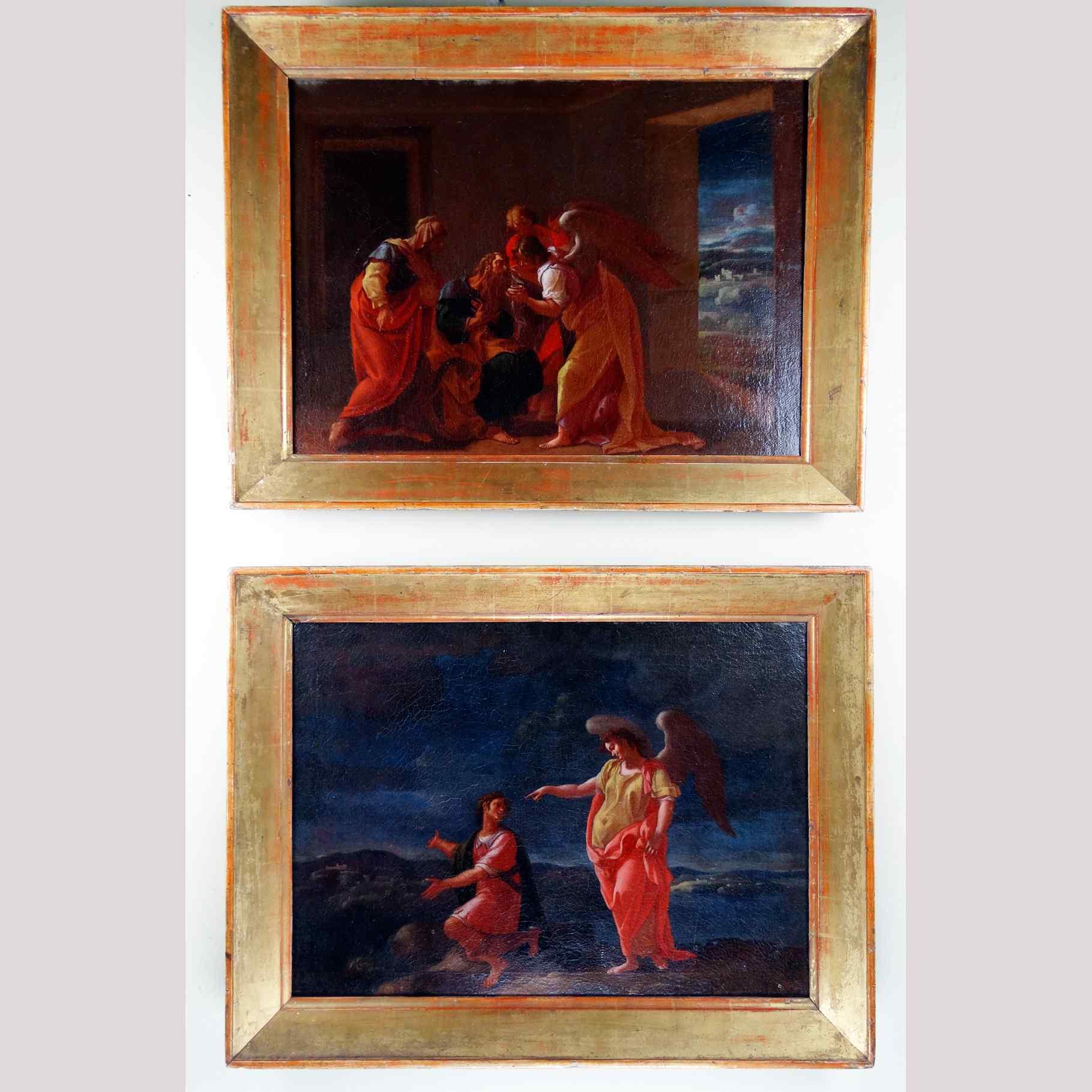 Francesco Perezzoli (1661 - 1722) - Coppia di dipinti