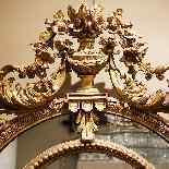 Uno specchio dal periodo Napoleone III-2