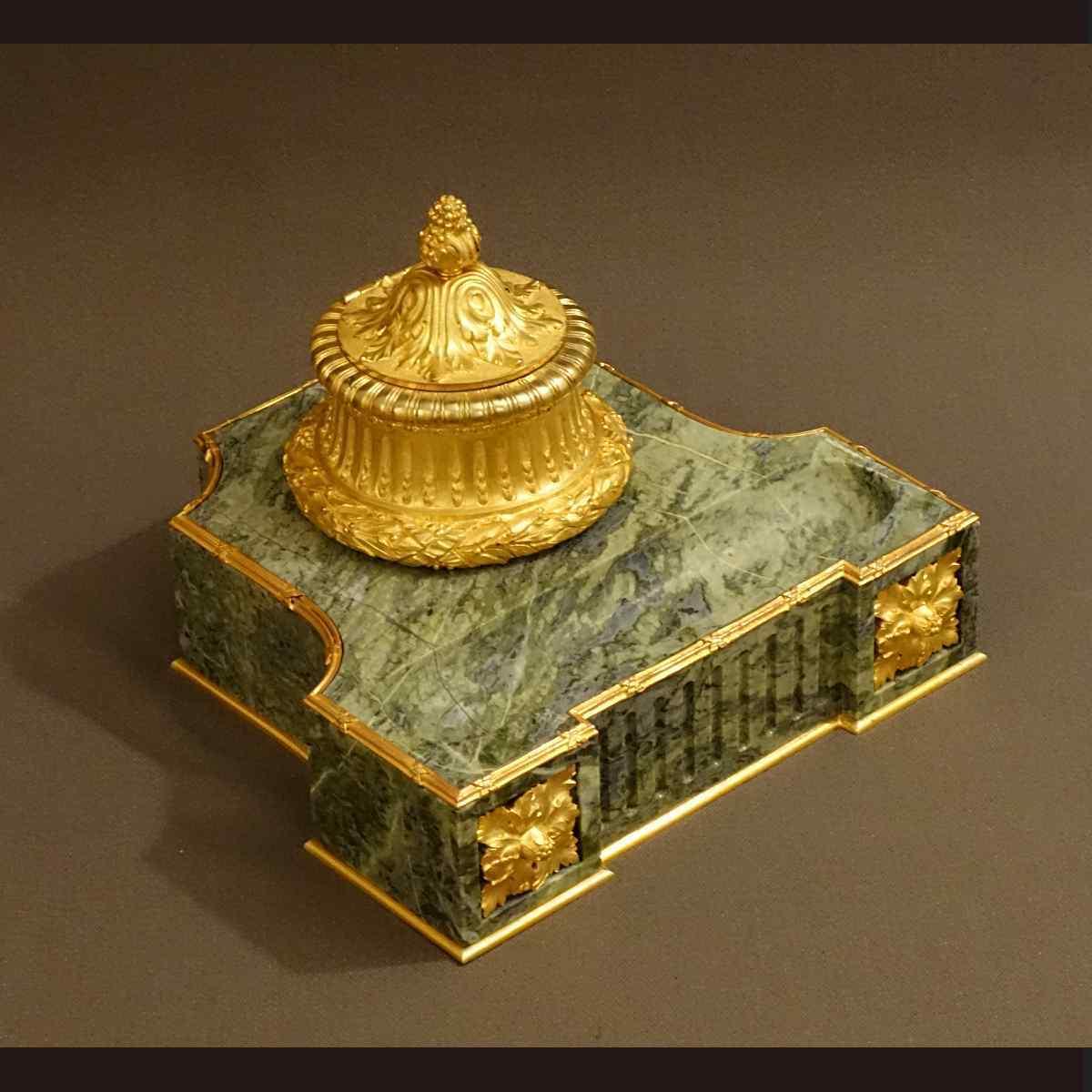 Important Encrier XIXème Style Louis XVI