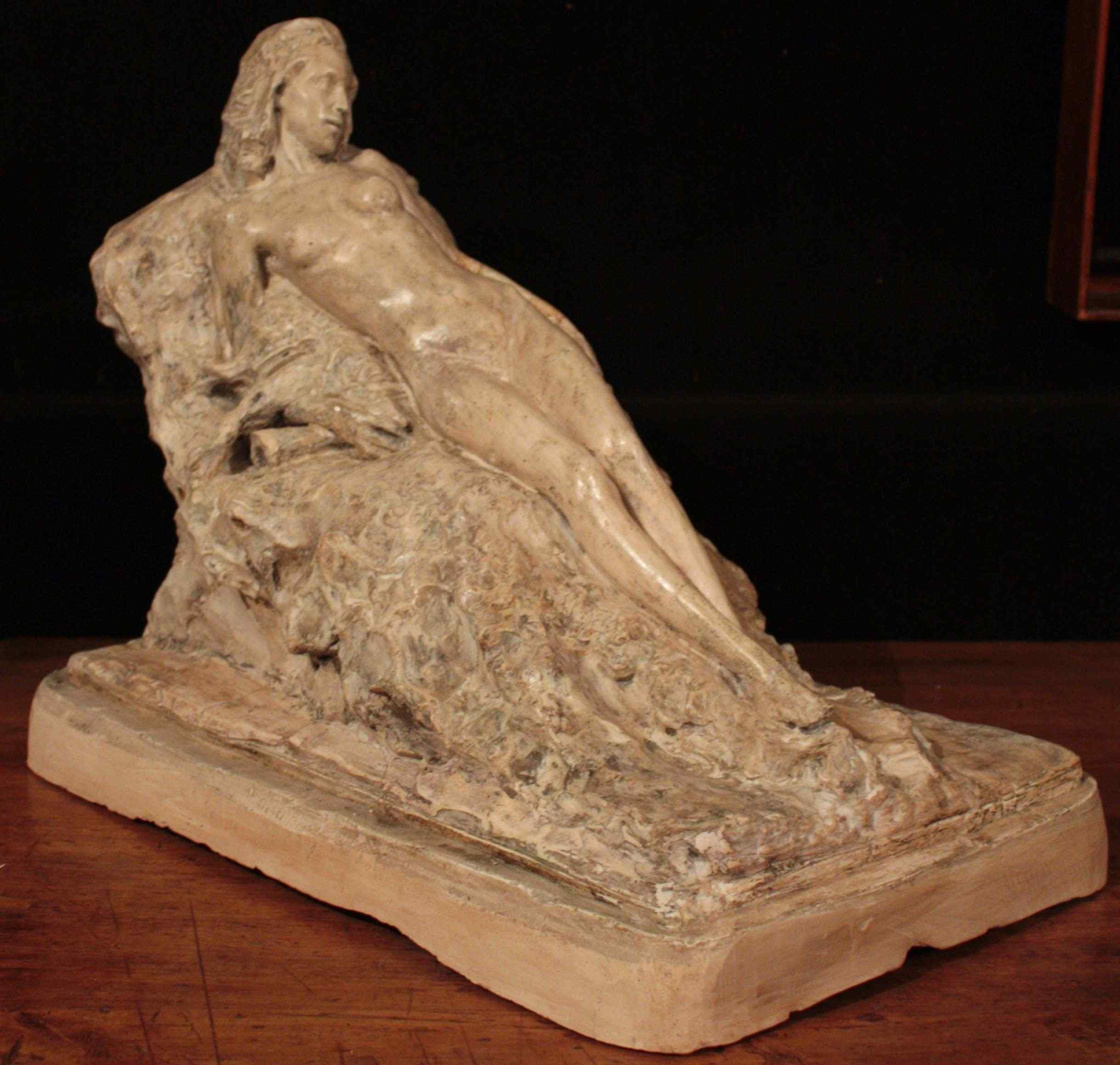plaster sculpture Giuseppe Siccardi