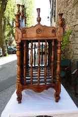 Porta pane antico del XVIII, Provenzale-9