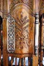 Porta pane antico del XVIII, Provenzale-5