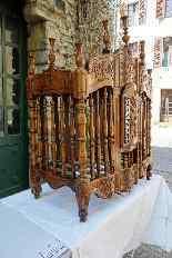 Porta pane antico del XVIII, Provenzale-4