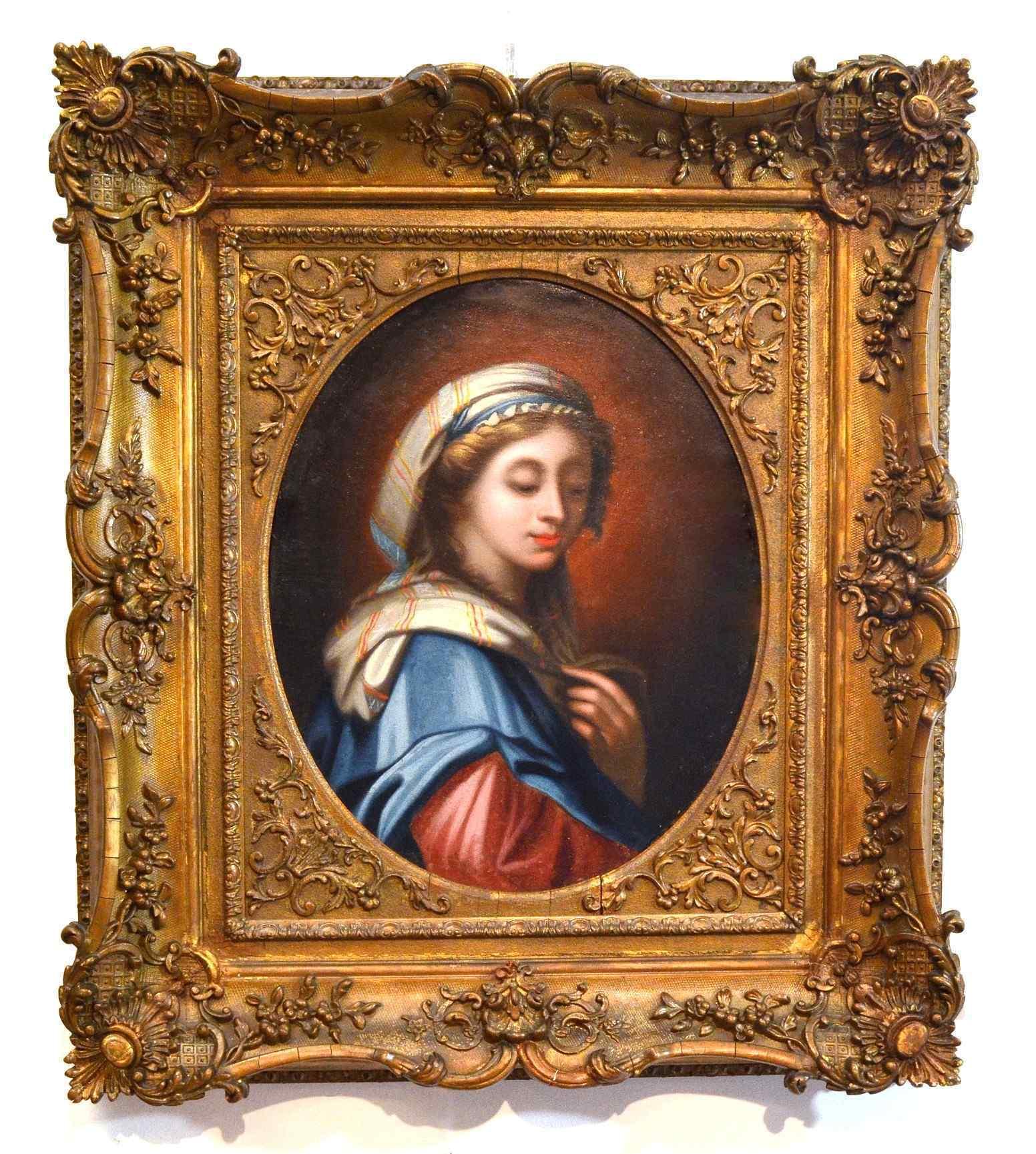 Portrait of Virgin, attr. Onorio Marinari, XVIII secolo