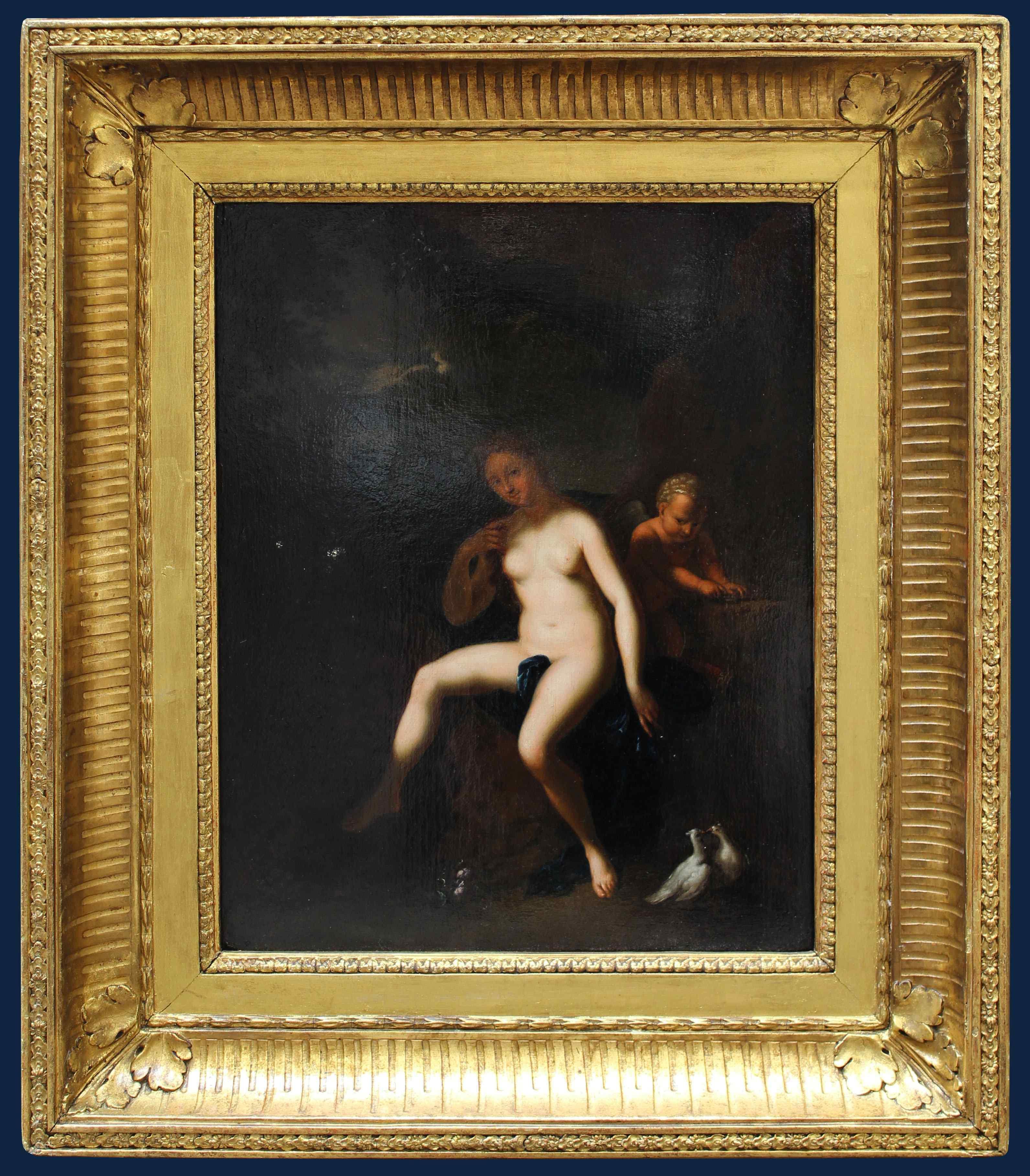 Cerchia di Antoine Coypel (1661 – 1722),Venere e Amore