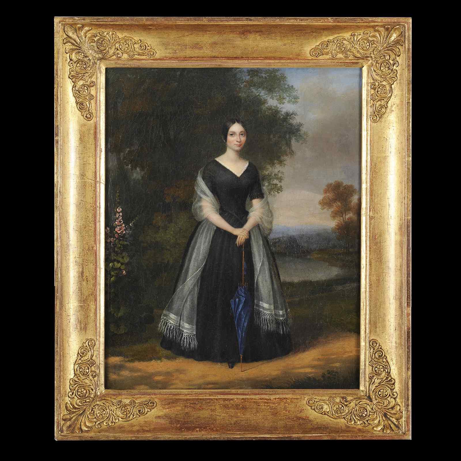 Pierre Duval Le Camus (Att in.) - Ritratto di donna