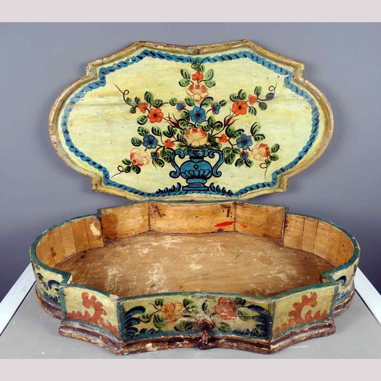 Cofanetto veneziano del 700 dipinto